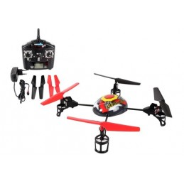REV-24097 MULTIROTOR QUAD AIR 2.4 GHZ RTF. 4 canales con display. Long: 185 mm.