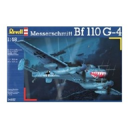 REV-4857 1/48 MESSERSCHMITT Bf-110 G-4 Nachtjäger