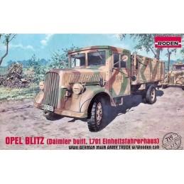 ROD-719 RODEN 719 1/72  OPEL BLITZ ( Daimler built, L701 Einheitsfahrerhaus)