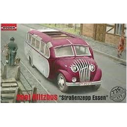 """ROD-725 RODEN 725 1/72  OPEL BLITZBUS """"Strassenzepp Essen"""""""