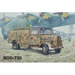 ROD-730 RODEN 730 1/72 OPEL BLITZ Kfz.385 Tankwagen