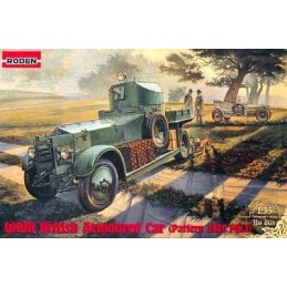 ROD-801 Roden 801 1/35 WWII British Armoured Car Pattern 1920 Mk.I