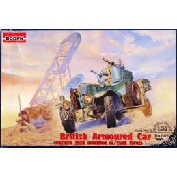 ROD-802 1/35 RR British Armored Car ( 1920 Pattern Mk1 modified w/sand tyres)