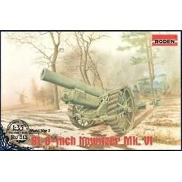 ROD-813 RODEN 813 1/35 BL 8-inch Howitzer Mk.VI