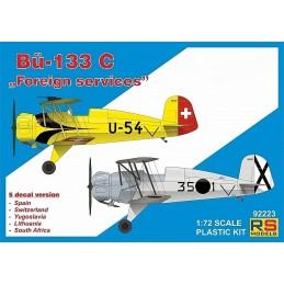 RSM-92223 RS Models 92223 1/72 Bucker 133 C Foreign services. Calcas espanolas