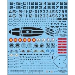 SE-1232 1/32 SE1232 / EF-18 A/B. Todos los F-18 A / B del EdA. Alas 11 y 21 / 12 / 15 / 46. Marcas de Bombardeo y personalizacio