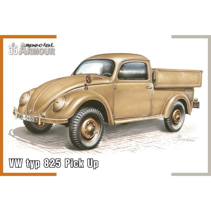 SH-100SA35007 SPECIAL HOBBY  100SA35007 1/35 VW type 825 Pick Up