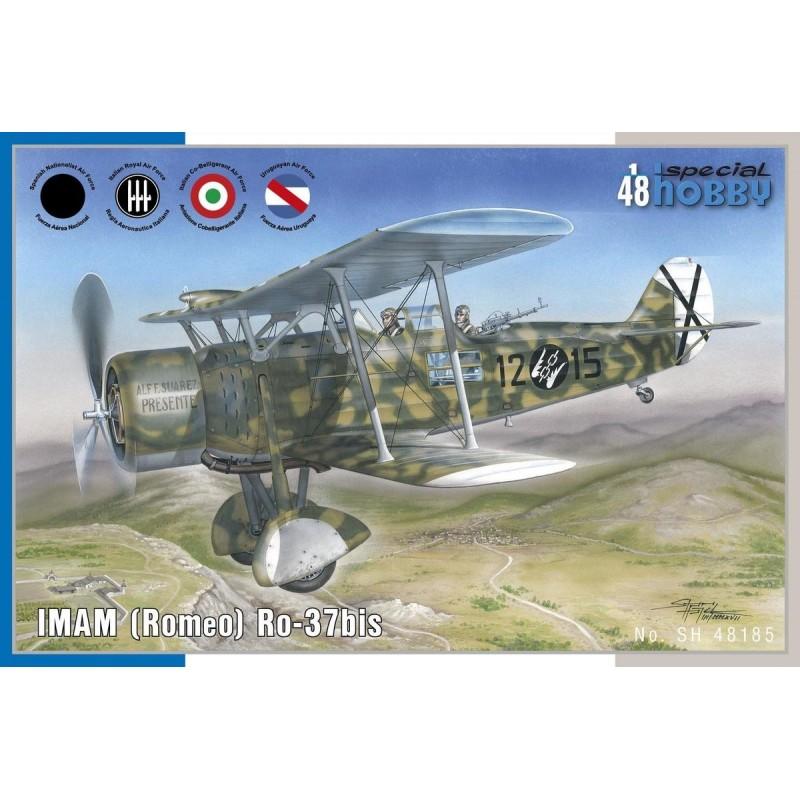 SH-100SH48185 Special Hobby 100SH48185 1/48 IMAM (Romeo) Ro.37bis. Calcas espanolas