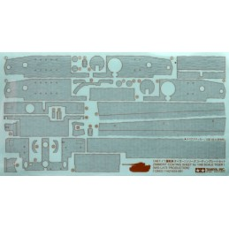 TAM-12653 Tamiya 12653 1/48 Zimmerit Coating Sheet - Tiger I Late Production