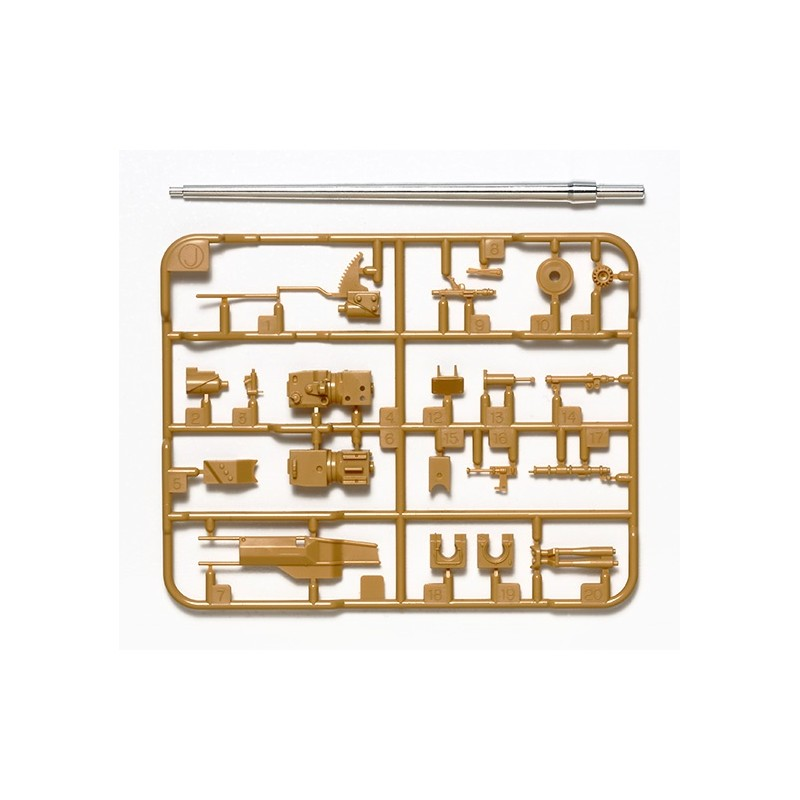 TAM-12664 Tamiya 12664 1/35 German Panther Ausf.D Metal Gun Barrel Set