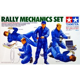 TAM-24266 Tamiya 24266 1/24 Rally Mechanics Set