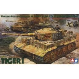 TAM-25401 Tamiya 25401 German Tiger I Late Version w/Ace Commander  Crew Set (5 Figures)