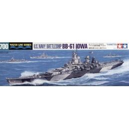 TAM-31616 1/700 Tamiya 31616 U.S. Battleship Iowa (BB-61)