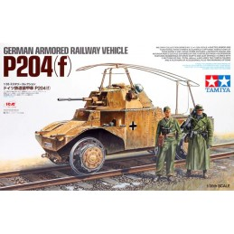 TAM-32413 Tamiya 32413 1/35 German Armoured Railway Vehicle P204(f)
