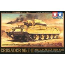 TAM-32541 TAMIYA 32541 1/48 Crusader Mk.I/II British Cruiser Tank Mk.VI