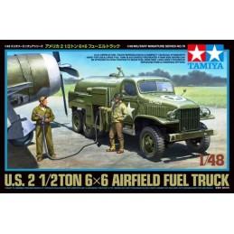 TAM-32579 Tamiya 32579 1/48 U.S. 2 1/2 Ton 6 x 6 Airfield Fuel Truck