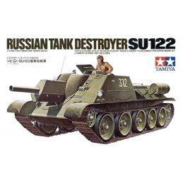 TAM-35093 Tamiya 35093 1/35 Russian Tank SU-122