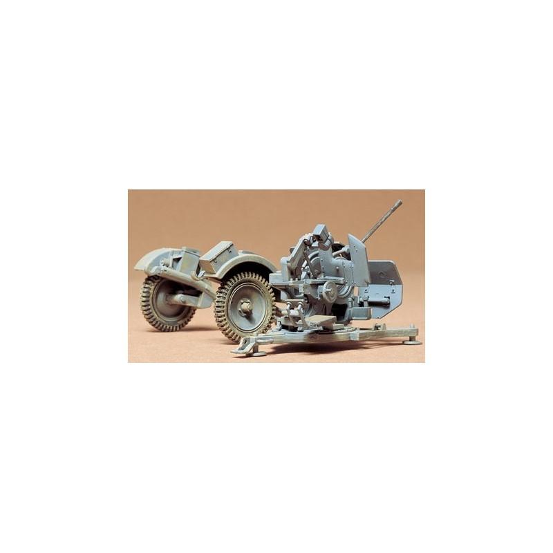 TAM-35102 TAMIYA 35102 1/35 CAÑON ALEMAN FLAK 38 20mm.
