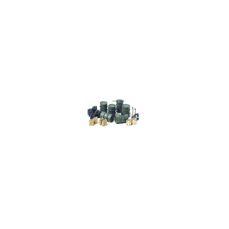 TAM-35186 TAMIYA 35186 1/35 BIDONES DE COMBUSTIBLE ALEMANES