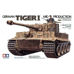 TAM-35194 Tamiya 35194 1/35 German Tiger I Mid Production