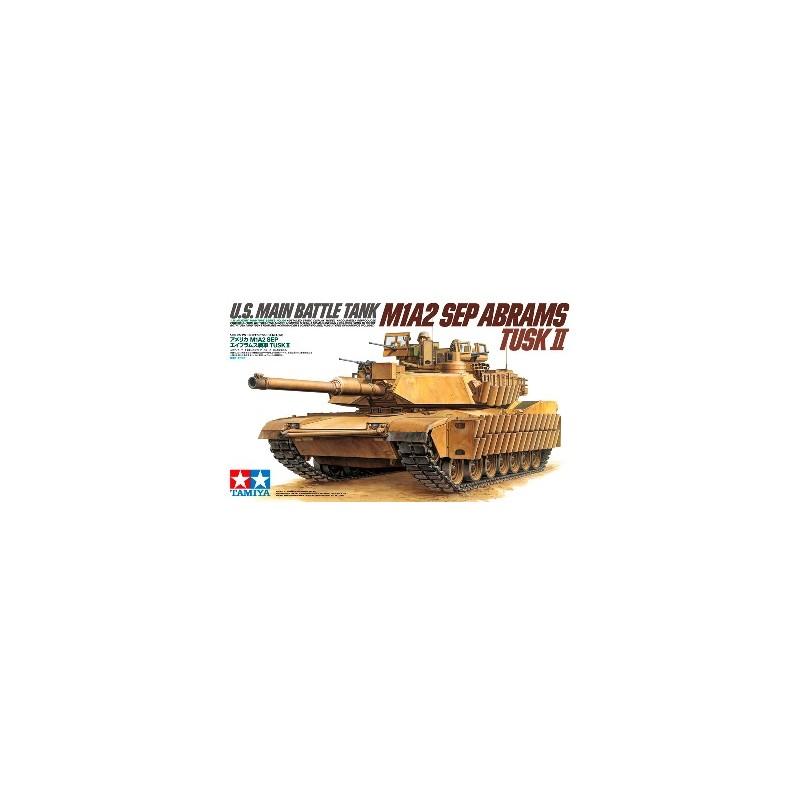 "TAM-35326 TAMIYA 35326 1/35 ABRAMS M1 A2 SEP ""TUSKS II"