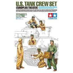 TAM-35347 TAMIYA 35347 1/35 TAMIYA 35347 U.S. Tank Crew Set (European Theater)