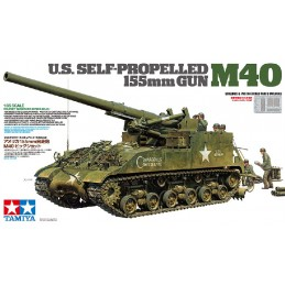 TAM-35351 tamiya 35351 U.S. M40 155 mm SELF PROPELLED GUN