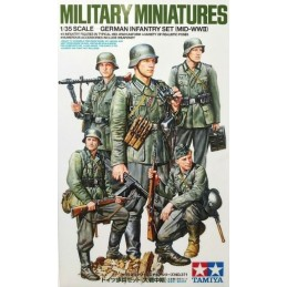 TAM-35371 Tamiya 35371 1/35 German Infantry Set (Mid-WWII)