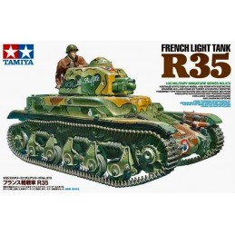 TAM-35373 Tamiya 35373 1/35 FRENCH LIGHT TANK R35