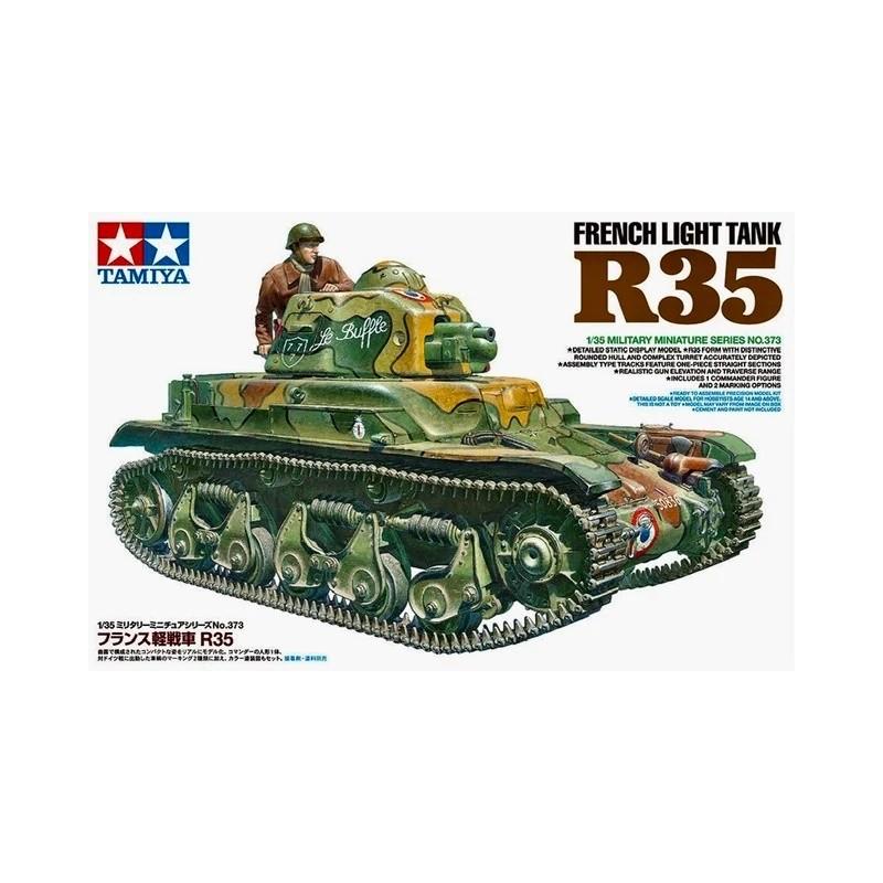 TAM-35373 Tamiya 35373 1/35 FRENCH LIGHT TANK R35