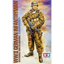 TAM-36304 1/16 Tamiya 36304 WWII German Infatryman (Reversible Winter Uniform)