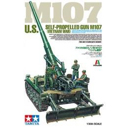 TAM-37021 Tamiya 37021 1/35 US Self-Propelled Gun M107 Vietnam War
