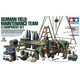 TAM-37023 1/35 TAMIYA  37023 German Field Maintenance Team