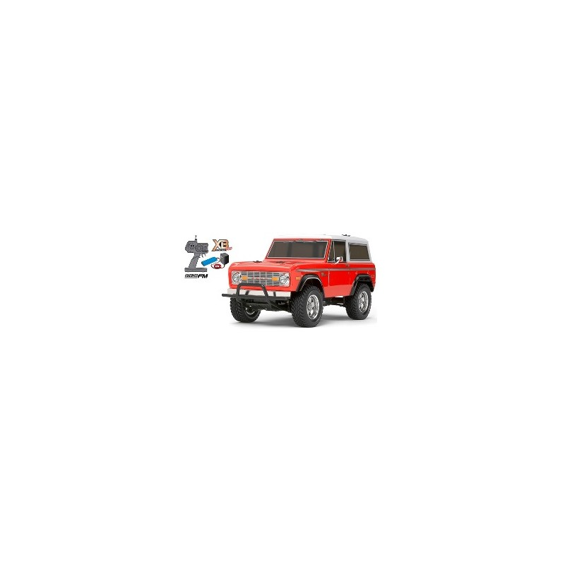 TAM-57818 1/10 XB2 FORD BRONCO 1973 CON LUCES LED