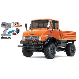 TAM-57843 1/10 XB2 MERCEDES-BENZ UNIMOG 406 SERIES U900 CON LED