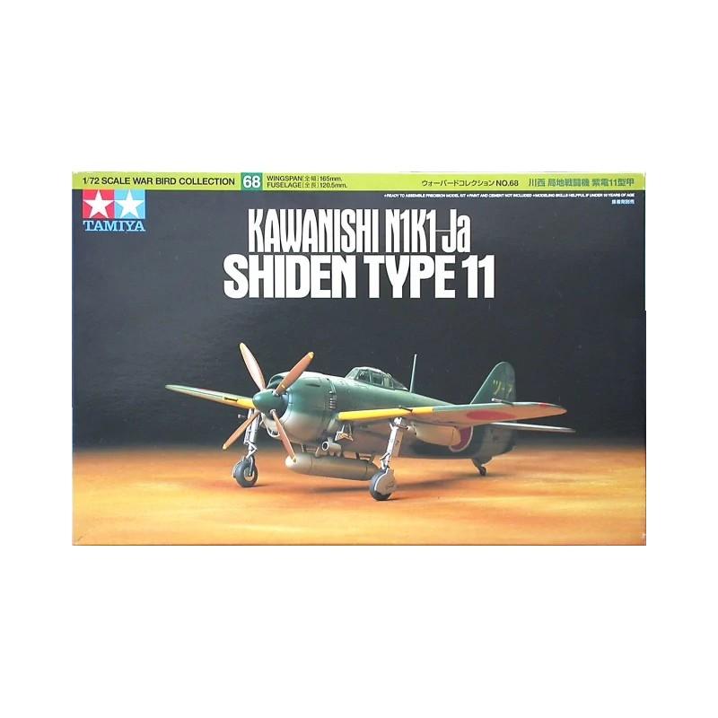 TAM-60768 Tamiya 60768 1/72 Kawanishi Shiden Type 11 (N1K1-Ja)