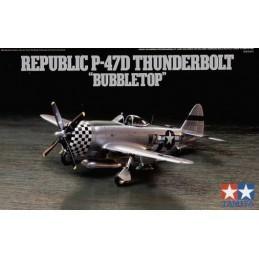 TAM-60770 Tamiya 60770 1/72 P-47D Thunderbolt -Bubbletop