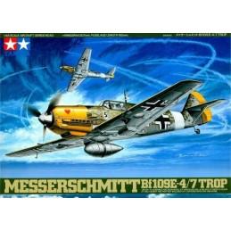 TAM-61063 Tamiya 61063 1/48 Messerschmitt Bf109E-4/7 Trop