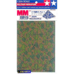 TAM-66562 Tamiya 66562 1/35 German Army Camouflage Shelter Quarter Oak Leaf