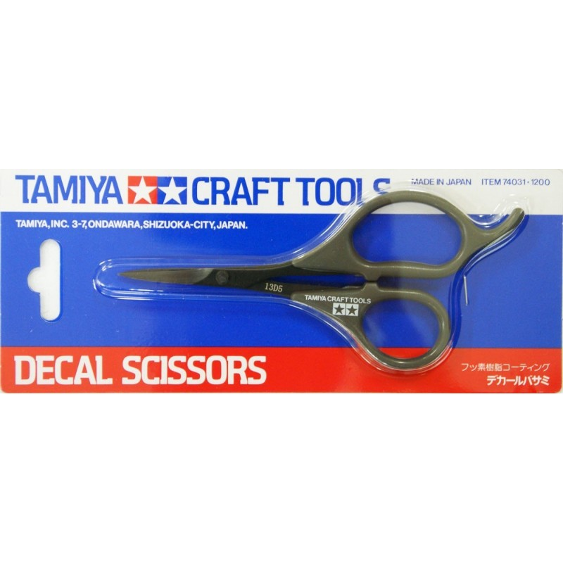 TAM-74031 Tamiya 74031 Decal Scissors