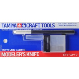 TAM-74040 tamiya 74040 Modeler.s Knife