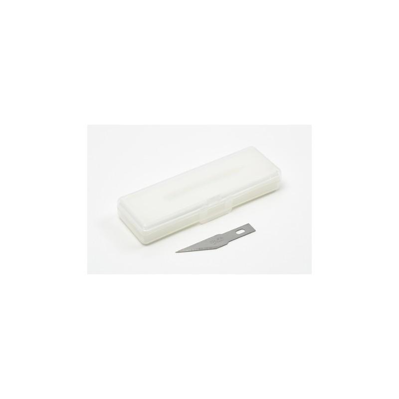 TAM-74099 Tamiya 74099 Modeler s Knife Pro - Straight Blade 5pcs