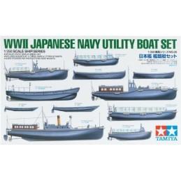TAM-78026 1/350 Tamiya 78026 Japanese Navy Utility Boat Set WWII