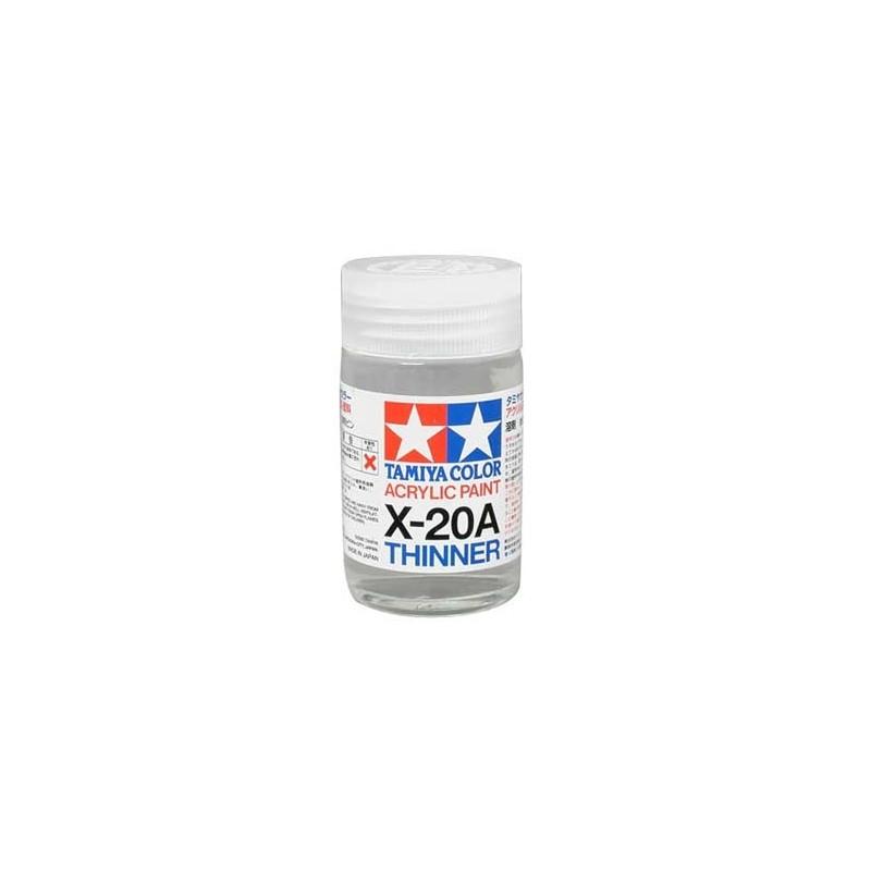 TAM-81030 Tamiya 81030 X-20A Acrylic Thinner