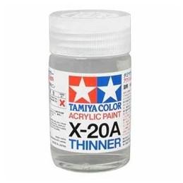 TAM-81520 DISOLVENTE PARA PINTURA ACRILICA X-20A. 10 ml