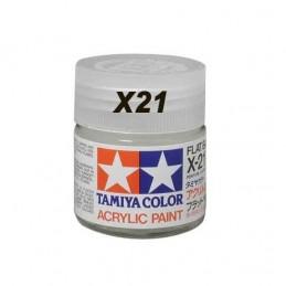 TAM-81521 tamiya X-21 81521. Flat Base Mini Acrylic Paint