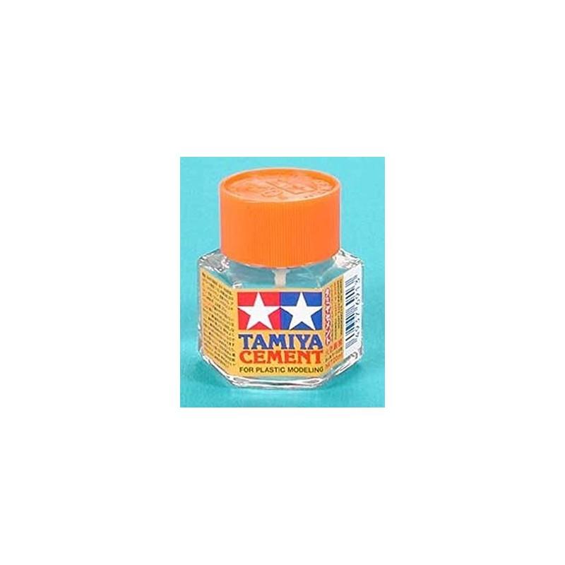 TAM-87012 TAMIYA 87012 PLASTIC CEMENT MINI - Adhesivo de Polistireno (20 ml.)