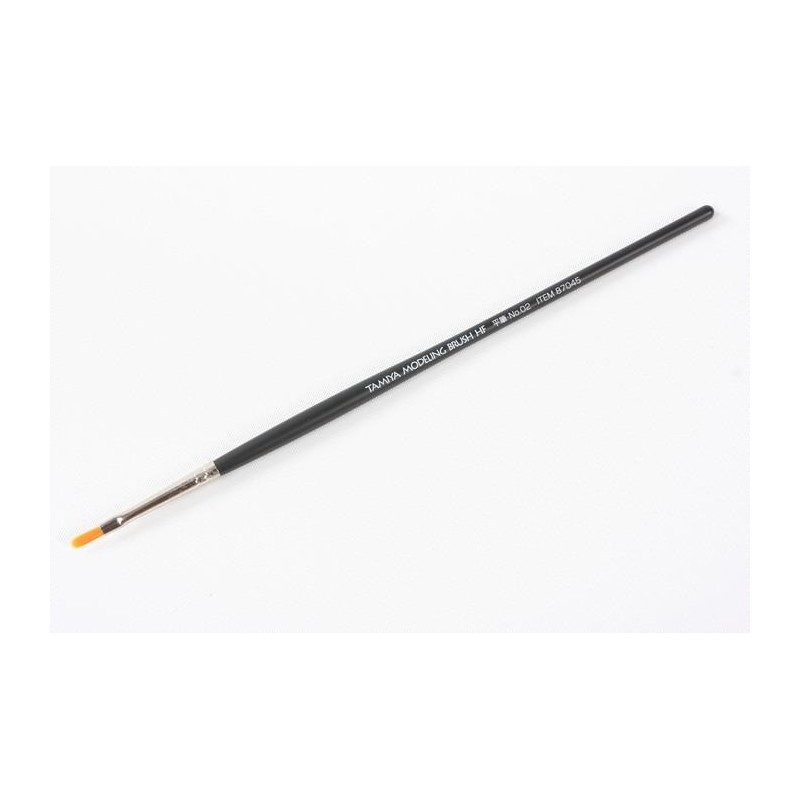 TAM-87045 Tamiya 87045 High Finish Flat Brush No.02