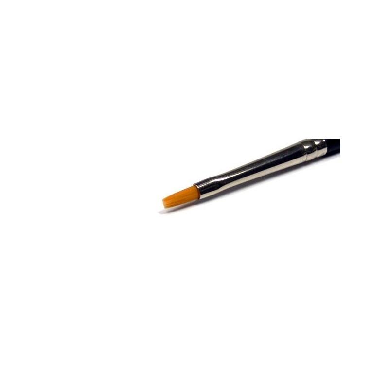 TAM-87046 Tamiya 87046 High Finish Flat Brush No.0