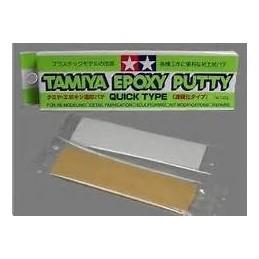 TAM-87051 TAMIYA 87051 EPOXY PUTTY QUICK TYPE - Masilla de modelar secado rapido.